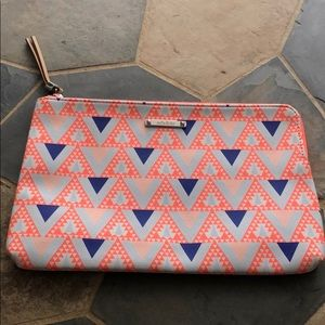 Stella & Dot Capri Mosaic Triangle Pouch